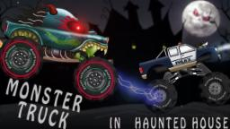 Haunted House Monster Truck - Police Monster Truck | Episode 1