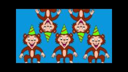 Five Little Monkeys | Nursery Rhyme Songs And Children Music