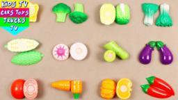 Learn Names Of Vegetables For Kids Children Babies Toddlers | Vegetables For Kids | Kids Video