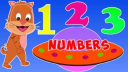 Aliens for kids | Ufo | Number Song | Learn numbers is funny way
