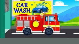 Firetruck | Car Wash  |Videos For Baby & Toddlers