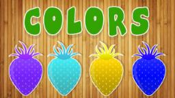 Color song | learn colors with strawberry | kids video