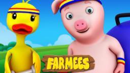Jump A Bub Bub | Original Song | Nursery Rhymes Farmees | Baby Rhymes