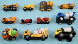 Learn Cement Mixers For Kids Children Babies Toddlers With Construction Vehicles | Cement Mixer