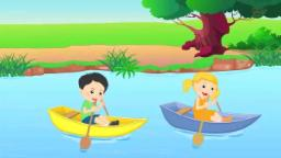 Row Row Row Your Boat Nursery Rhyme And Children's Songs By Kids TV