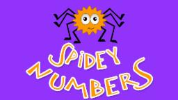 Spider Numbers | Learn numbers from 1 to 10