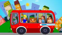Wheels On The Bus Nursery Rhyme For Children By Kids TV