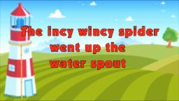 Karaoke Rhymes - Incy Wincy Spider