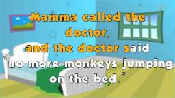 Karaoke Rhymes - Five Little Monkeys