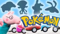 Pokemon Surprise PokeBalls For Kids | Surprise Pokemon Characters | Colors With Pokeballs |Peppa Pig