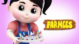 Color Song | Learn Colors | Nursery Rhymes Farmees | Baby Songs | Kids Rhymes