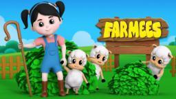 Little bo Peep | Nursery Rhymes Farmees | Baby Rhymes | Kids Songs