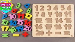 Learn 1 To 20 Numbers For Children | Counting Numbers | 1 To 20 Numbers | Numbers Song For Kids