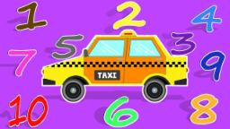 Taxi | Learn Number | Learning Video For kids