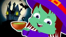 Umi Uzi | Witches Soup | Scary Rhymes | 1 hour Compilation for Kids