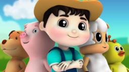 Five Little Farmees | Nursery Rhymes Farmees | Kids Songs | Baby Rhymes | Children Video