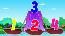 Numbers Song | Learn Numbers | Boat songs | Kids Songs