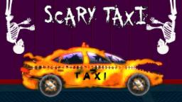 Scary taxi | formation and uses | Halloween car garage for kids