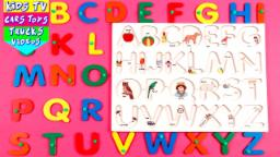 Learn ABC For Kids | A to Z | Alphabet Song | Phonic Song | Alphabets With Characters For Kids