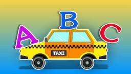 Taxi | Learn Alphabets | Educational Video For kids