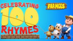 Top 100 Nursery Rhymes Collection Farmees | Kids Song | Baby Rhymes | Childrens Videos