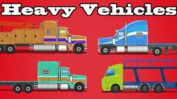 Street Vehicles | Vehicles for Children | Learning Video for Kids & Toddlers