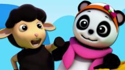 Baa Baa Oveja Negro | Rimas para niños | 3D Nursery Rhymes | Baby Bao Panda | Baa Baa Black Sheep