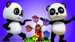 Ringa ringa rosas | vivero Rimas | niños Canciones | Rhymes For Kids | Bao Panda Ringa Ringa Roses
