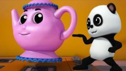 Bao panda | Soy una pequeña tetera | niños rima | Nursery Rhyme | Kids Song | I Am A Little Teapot