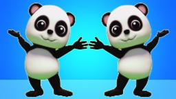 Hokey Pokey | Bao Panda | 3D Cartoon para los niños | rima popular de guardería
