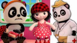 Miss Polly teve um Dolly | bebé bao panda | berçário Rima | Baby Bao Panda | Miss Polly Had A Dolly