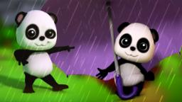 Chuva da chuva parte | rima de berçário | 3D Miúdos Cartoon | Rain Rain Go Away | Nursery Rhyme
