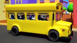 rodas no autocarro | rimas populares para crianças | vídeo educativo | compilação |Wheels On The Bus