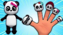Baby Bao Panda Dedo Família | Desenhos animados 3D para crianças | vídeo educativo | Finger Family