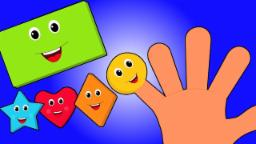 dedo familia formas | populares canciones infantiles | compilación | Shapes Finger Family for kids