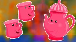 Soy una pequeña tetera | Cartoon for niños | compilación | la poesía infantil | I'm a Little Teapot