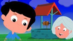 Jack e Jill foram acima do monte | pré-escolares Rimas | Nursery Rhymes | Jack And Jill Rhyme