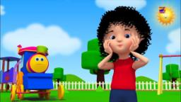 Chubby Mejillas mejilla de hoyuelos | Bob el tren | Rimas infantiles | Chubby Cheeks Dimple Chin