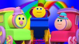 Bob el tren | dedo familia | Rima de bebé | Bob The Train | Finger Family | Song For Children