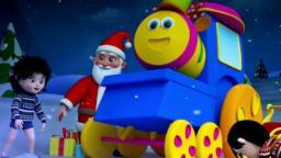 bob el tren   Cascabeles   festival de la canción   Merry Christmas Songs   Bob Train Jingle Bells
