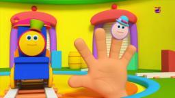 tren de Bob Familia del dedo del | bob Tren | Familia dedos | Kids Song | Bob Train Finger Family