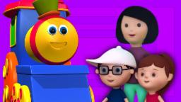 Bob El Tren | Ruedas del tren |  Dibujos animados 3D para los niños | Videos Infantiles