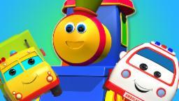 Bob el tren | bob aventura de transporte | bob canciones infantiles en español