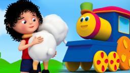 Bob o trem | mary teve um cordeiro pequeno | Mary Had A Little Lamb | Bob The Train | Kids Songs