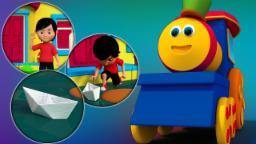 Bob o trem | Chuva chuva vá embora | Bob The Train | Rain Rain Go Away | Rhyme For Children & Kids