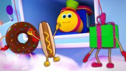 Bob O Trem | Pista de chocolate | 3D Canção para crianças | Baby Music | Bob Train | Chocolate Lane