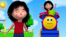 Bob o trem | Bochechas rechonchudas | Rima de bebê | Bob The Train | Chubby Cheeks | Rhyme For Kids