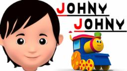 Bob o trem | Johny johny sim papa | Canção de bebê | Bob The Train | Johny Johny | Kids Rhyme