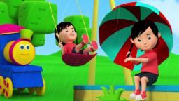 Bob o trem | Chuva chuva vá embora | Rima para crianças | Bob The Train | Rain Rain Go Away