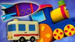 Bob o trem | aventura de transporte | aprender veículos | Compilação | português